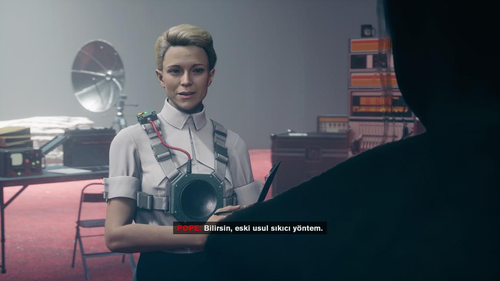 Control: Foundation DLC'sindeki bir konuşmadan kesinti.